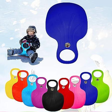 326D Durable Ski Shoes Pad Sled Board Ski Board Nylon Sole Black Snowboard Shoes