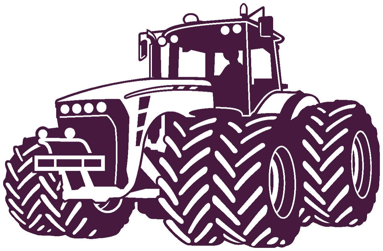Samunshi® Wandtattoo Trecker Traktor Kinderzimmer Spielzimmer Spielzimmer Spielzimmer in 9 Größen und 19 Farben (110x70cm schwarz) B06W9LFWH7 Wandtattoos & Wandbilder 0e86f8