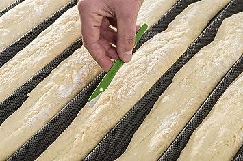 Scoritech Lot de 5 lames de boulanger de qualité professionnelle