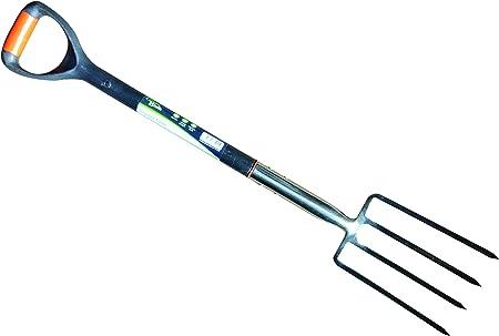 Hamble Distribution ltd Green Blade BB-GF201 - Horca para labranza (Acero Inoxidable): Amazon.es: Jardín