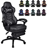 Racing Video Gaming Chair High Back Large Size Ergonomic Adjustable Swivel Reclining Executive Computer Gaming Chair…