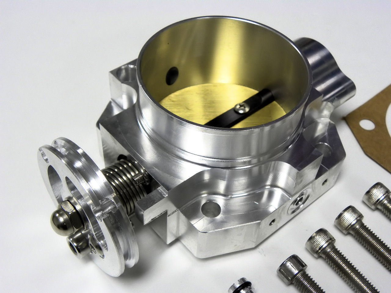 VMS BILLET THROTTLE BODY 70MM 70 MM HONDA CIVIC SI CRX INTEGRA GSR DIRECT FIT