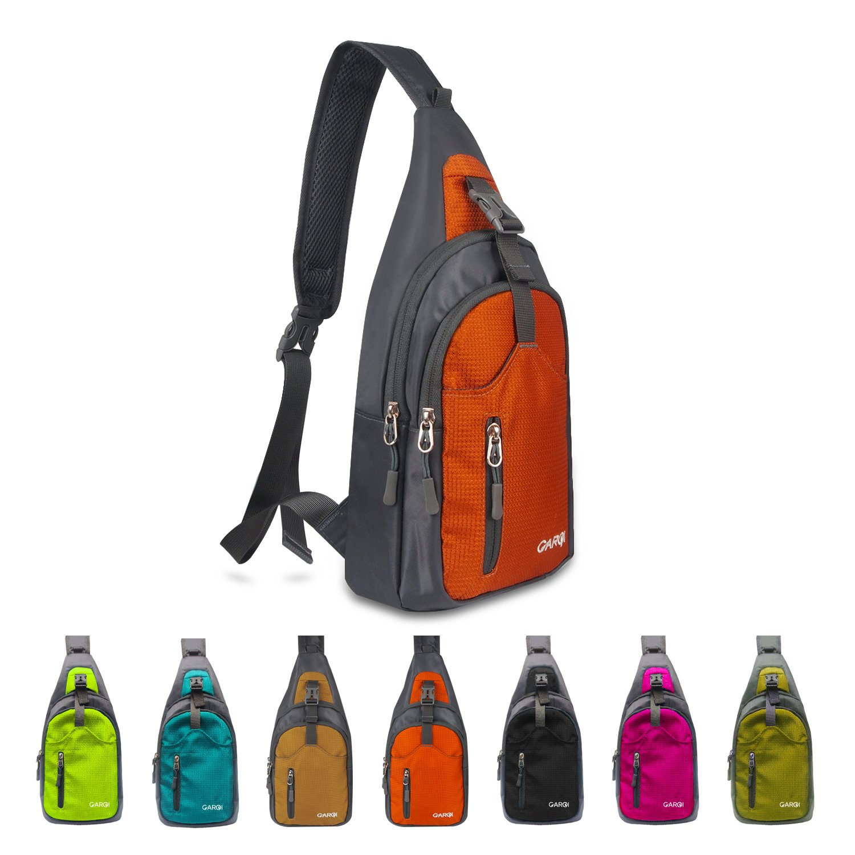 4f33eaa56 CARQI Sling Shoulder Backpacks Bags Crossbody Rucksack for Hiking Travel  Camping or Multipurpose Daypacks Man Women Girl, 7.5