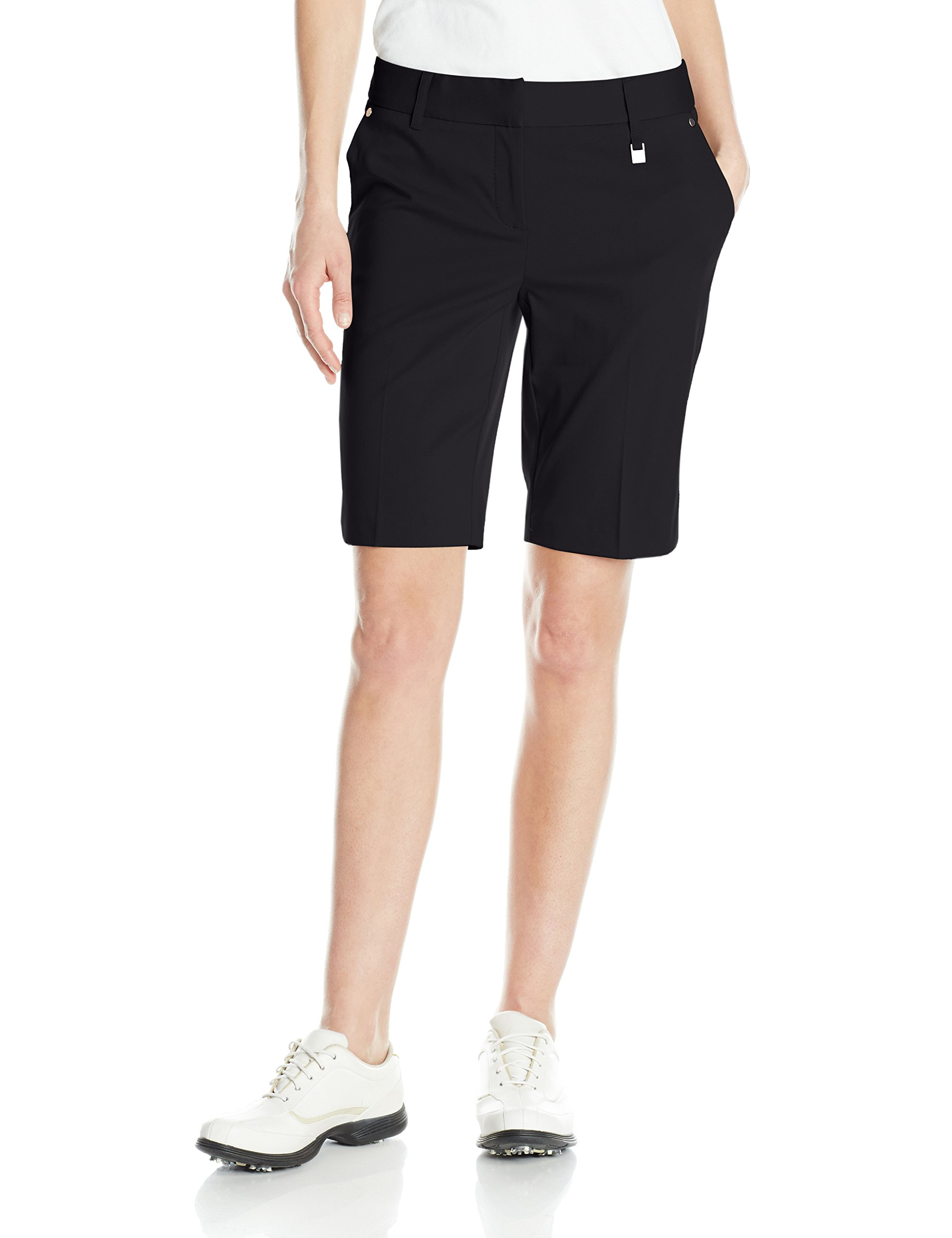 Cutter & Buck Women's CB Drytec Coast Short, Black, 2