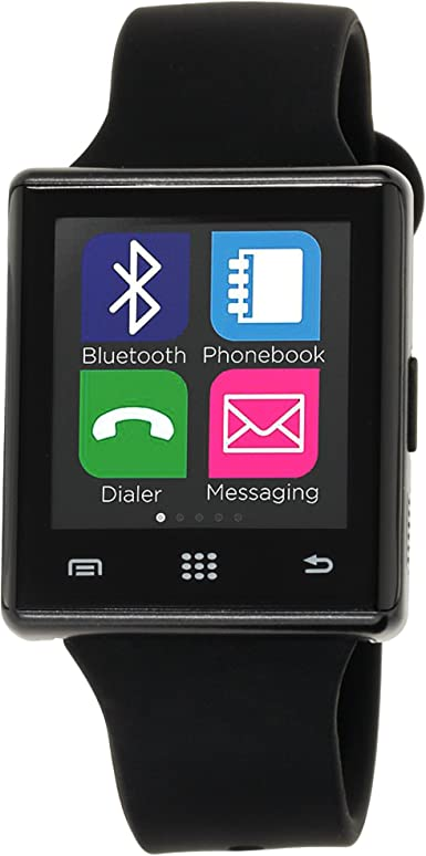 I-Touch Air Smart Watch - Pantalla Bluetooth con podómetro para Samsung Galaxy Android Apple iPhone iOS Google Nexus Smartphone: Amazon.es: Electrónica