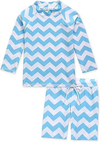 """Vaenait baby Toddler UPF+50 Kid Boy Rashguard Swimsuit Set /""""Big Jaws/"""" 2-7T"""
