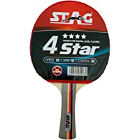 Stag 4 Star Table Tennis Racquet (Multicolor)