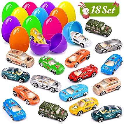 Amazon.com: UMIKU 18 piezas de juguetes para huevos de ...