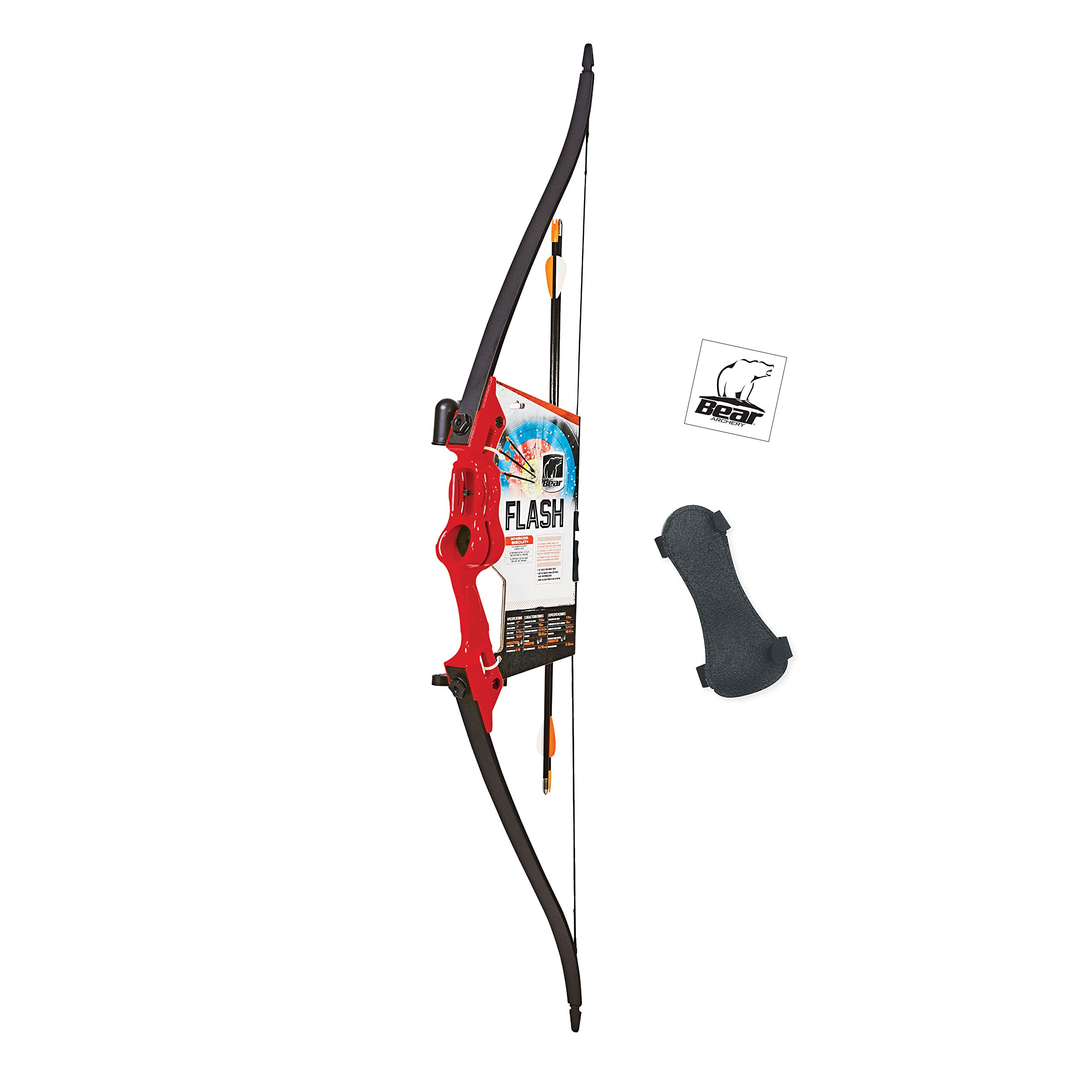 Bear Archery Flash Youth Bow – Red