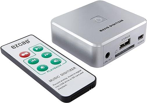 Hiwatch Grabador de captura de audio Convertidor con entradas de ...