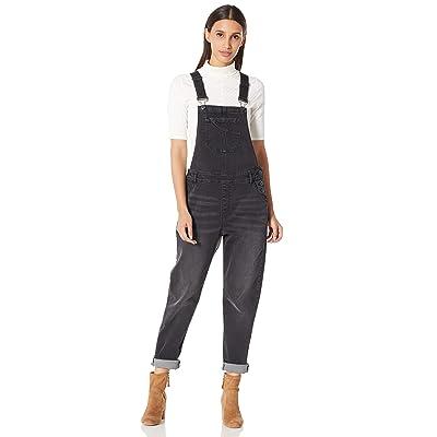 PD Peppered Denim Women's Classic Adjustable Strap Denim Bib Overall: Clothing