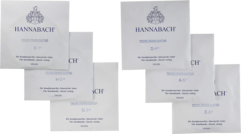 Hannabach 652996- Juego de 6cuerdas para guitarra clásica barítona