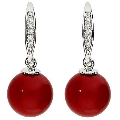 3c7f213e8109 MYA art MYAWGOHR-66 - Pendientes con perla para mujer, con ...