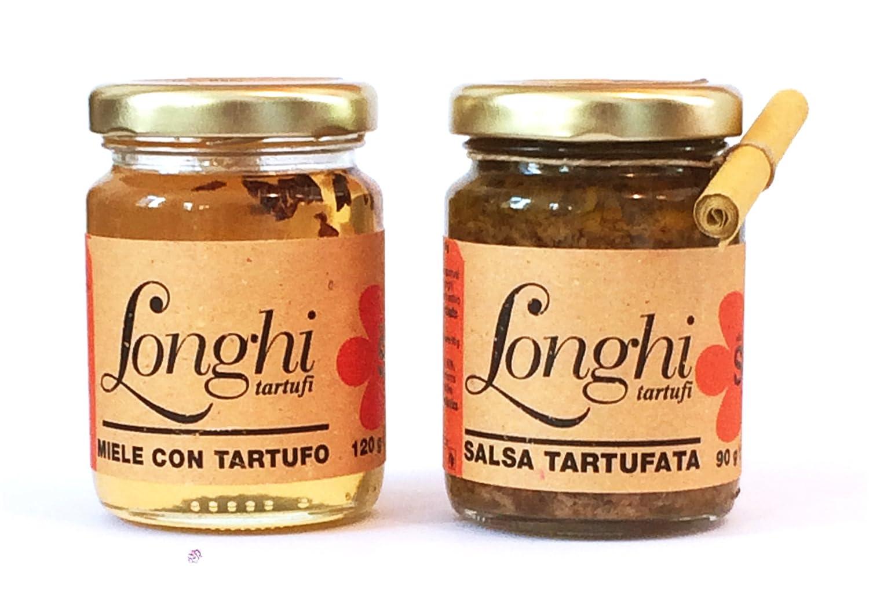 Miel con trufas y salsa de trufas - set de regalo: Amazon.es: Alimentación y bebidas