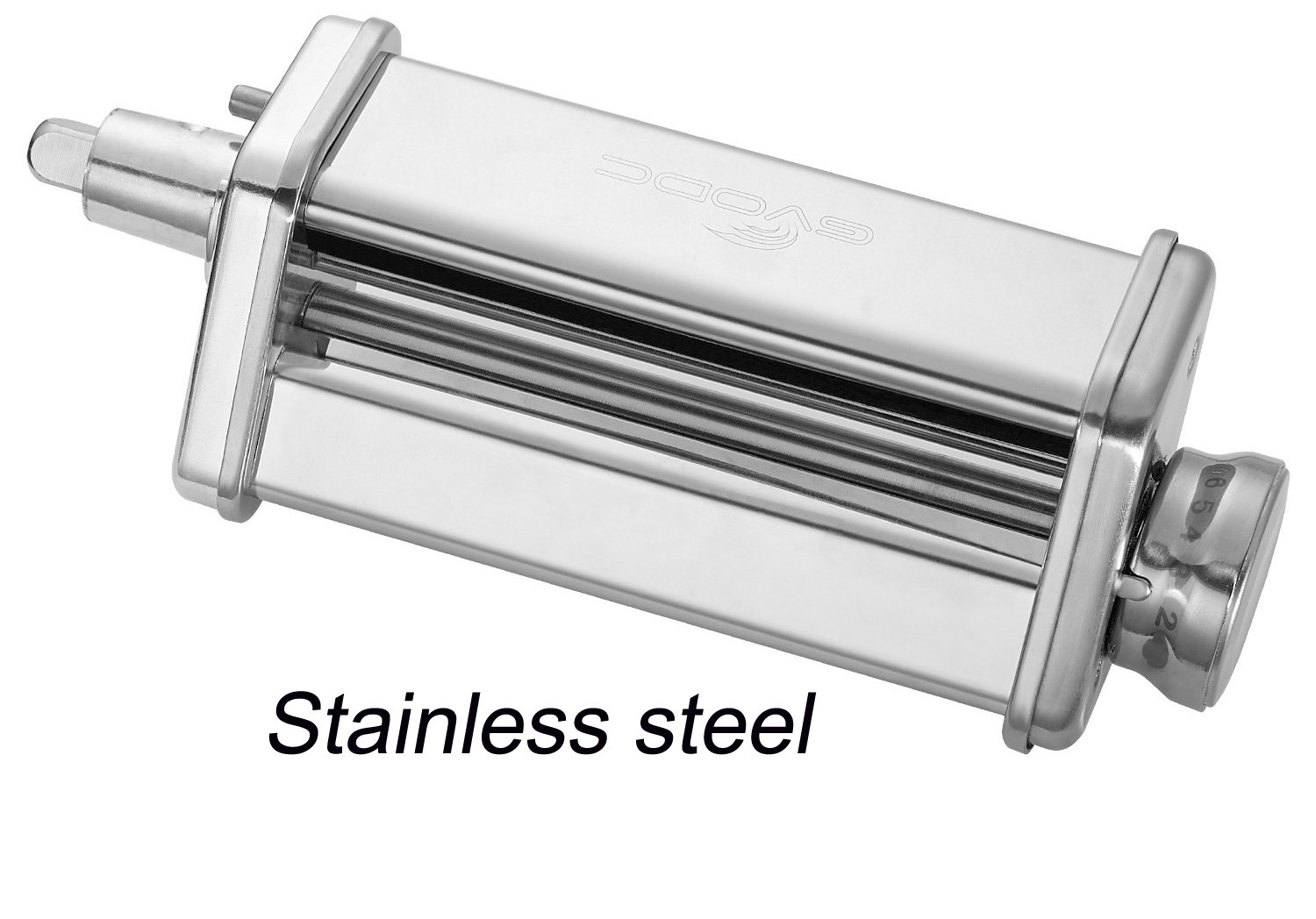 Gvode Kitchen Pasta Roller Attachment for Kitchenaid Stand Mixer,Stainless Steel,mixer accessory