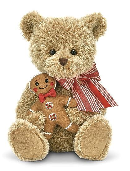 Christmas Bear.Bearington Ginger Brad Christmas Gingerbread Plush Teddy Bear 15