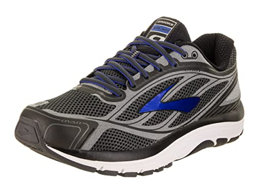 b954980bbf7 Brooks Men s Dyad 9 Asphalt Electric Blue Black Sneaker 8. 5 EE - Wide  Buy  Online at Low Prices in India - Amazon.in