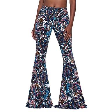 9614657d6bd9 Juleya Bootcut Pantalon Femme Taille Haute Pantalon Décontracté Élégant  Pantalon Évasé Doux Confortable Marlène Pantalon Solide