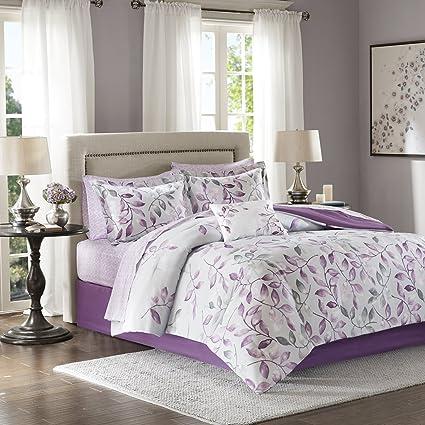 Amazon Com Madison Park Essentials Lafael Cal King Size Bed