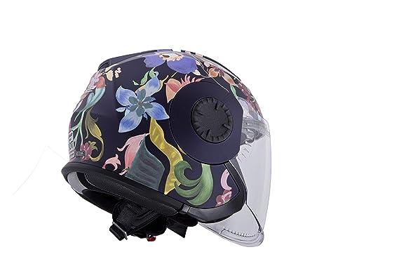 Amazon.com: LS2 Verso Flora Brasil - Casco de moto para ...