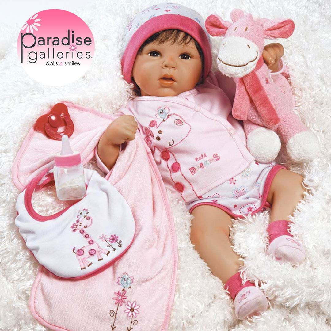 Paradise Galleries Reborn Baby Doll Lifelike Realistic Baby Doll