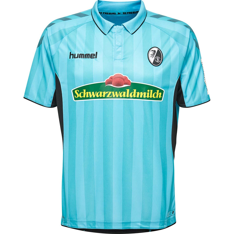 Hummel SC Freiburg Herren Ausweichtrikot 18 19-202369-8369 blau schwarz