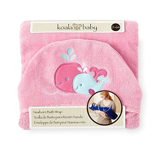 Amazon.com : Koala Baby Bath Swaddle - Whale : Baby