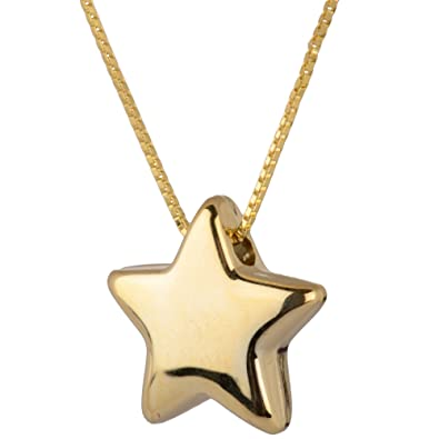 Oro collection 9ct yellow gold star pendant amazon jewellery oro collection 9ct yellow gold star pendant mozeypictures Gallery