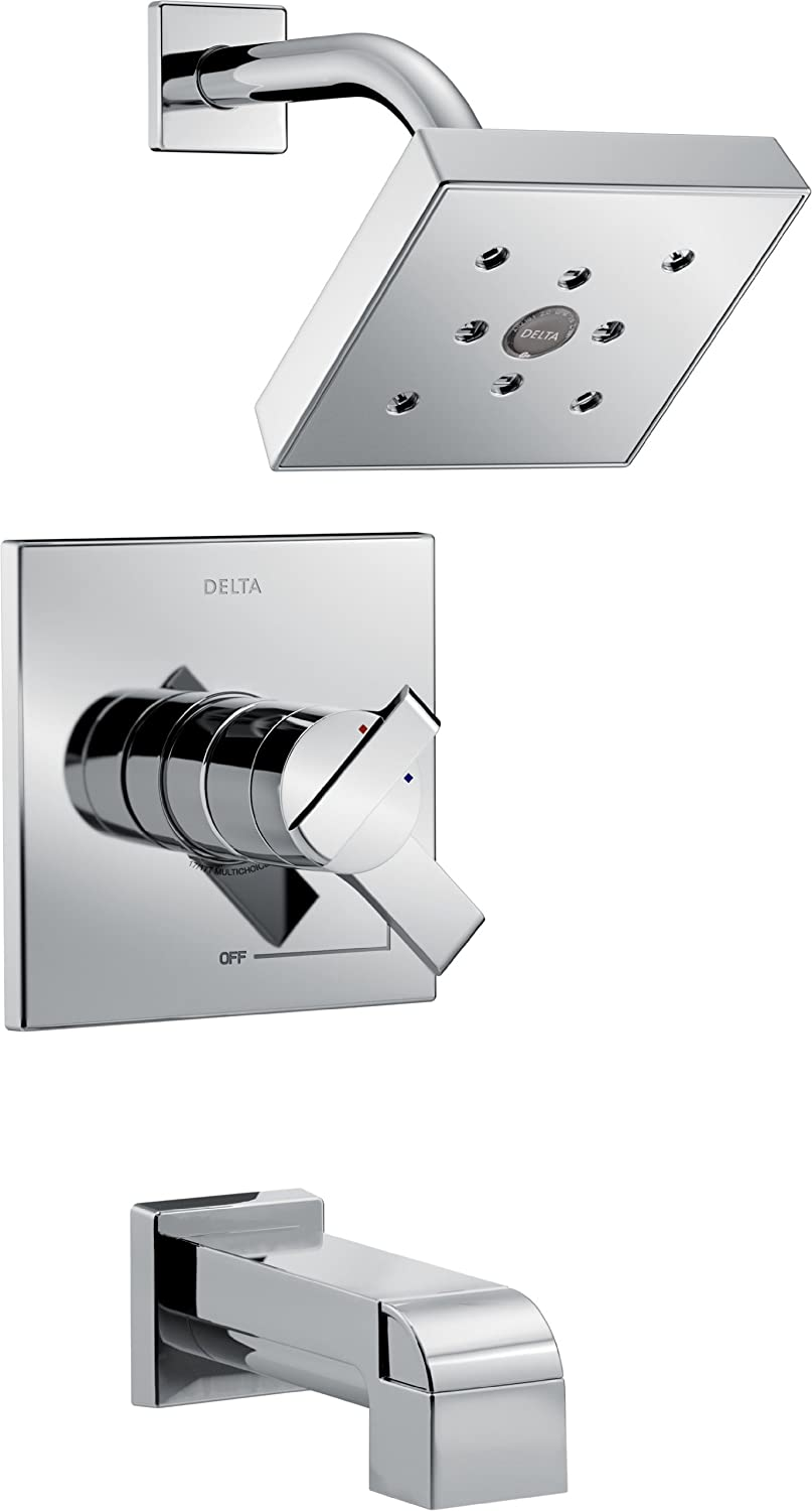 p faucet valve in faucets handle chrome only not kits kit shower trim vero bathtub included delta