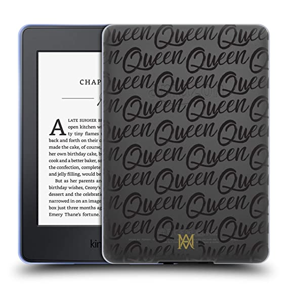 897e500e05dd Amazon.com  Official Marie Antoinette Queen Typography Soft Gel Case ...