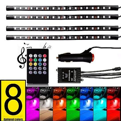 Lights & Lighting Led Strips 2017 12v Inverter Sound Activated 4 M Led Neon Light 10 Colors Optional El Wire Glow Rope Tape Tube For Car Interior Decoration