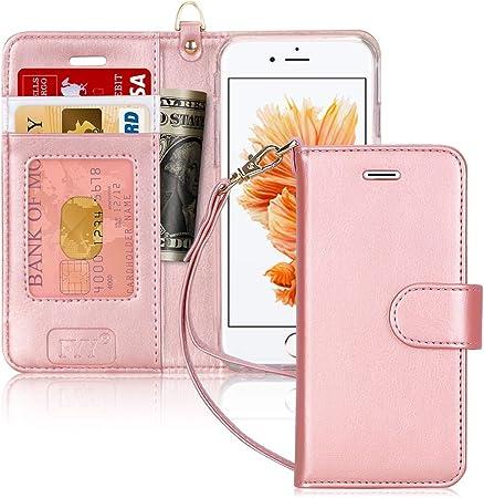 FYY Custodia iPhone 6S, Cover iPhone 6, Flip Custodia Portafoglio Libro Pelle PU con Porta Carte e Chiusura Magnetica per iPhone 6/6S 4.7