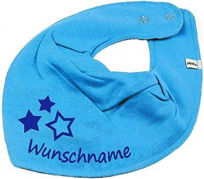 HALSTUCH PRINZESSIN mit Namen oder Text personalisiert für Baby oder Kind