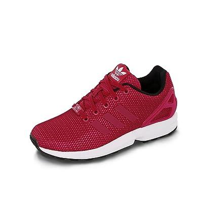 adidas ZX FLUX C S76299 enfant (garçon ou fille) Chaussures de sport, rouge
