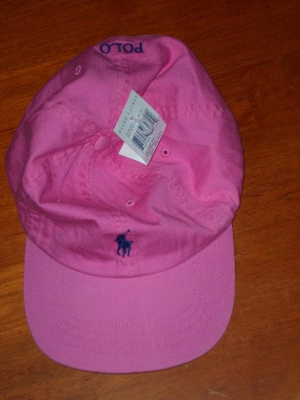 Ralph Lauren Polo Gorra de béisbol Sombreros Pony Logo un Tamaño ...