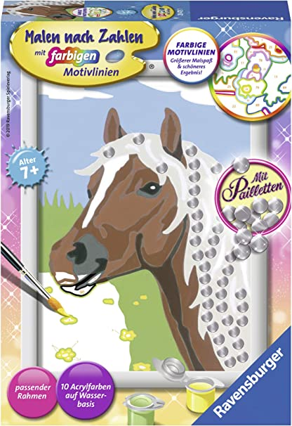 Ravensburger Painting by Numbers 27844/Horse