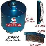 3 inch concrete diamond hole saw - Granite Tile Masonry Stone Marble Wet Dry Core Drilling Coring Drill Bits by STADEA