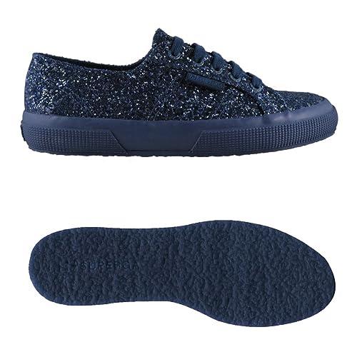 Collo A Superga Basso Donna Macroglitterw Sneaker 2750 wvIvR8