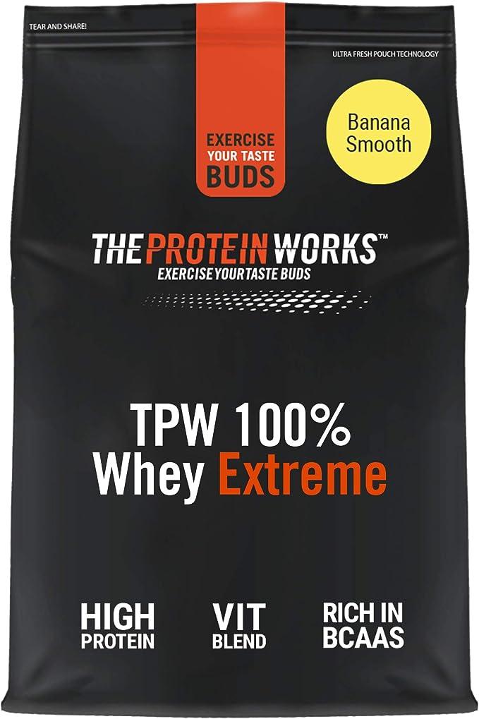 The Protein Works 100% Whey Extreme - 1000 gr: Amazon.es ...