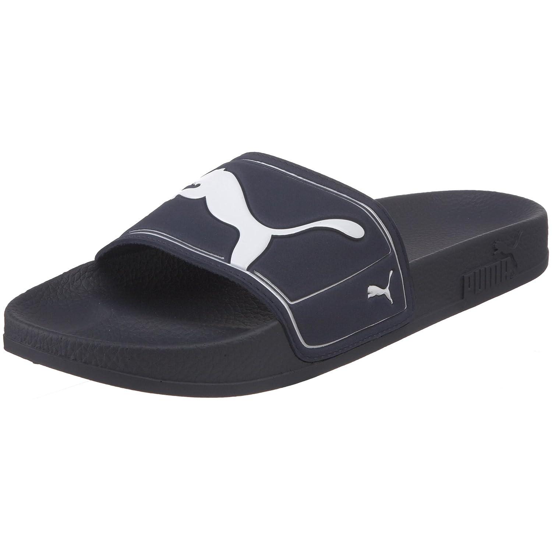 3be74875fd37ee PUMA Unisex King II Slide Sandal White Blue  Amazon.ca  Shoes   Handbags