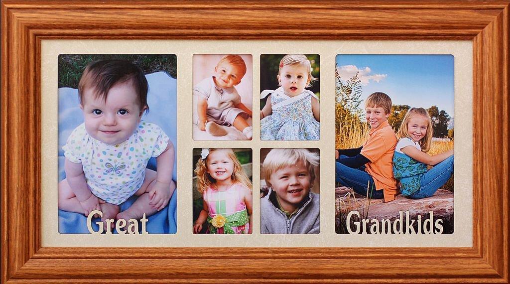 Amazon.com - 7x14 GREAT GRANDKIDS ~ Multi-Portrait Collage Picture ...