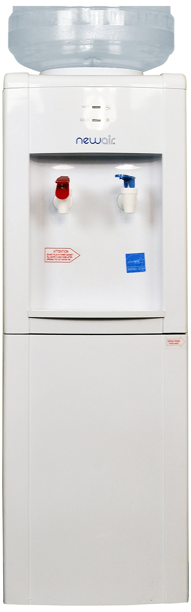 NewAir WCD-200W Hot and Cold Water Cooler, White by NewAir