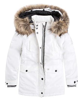 Pepe Jeans - Abrigo Marianne Junior Color: 808 Mousse Talla: T.14: Amazon.es: Ropa y accesorios