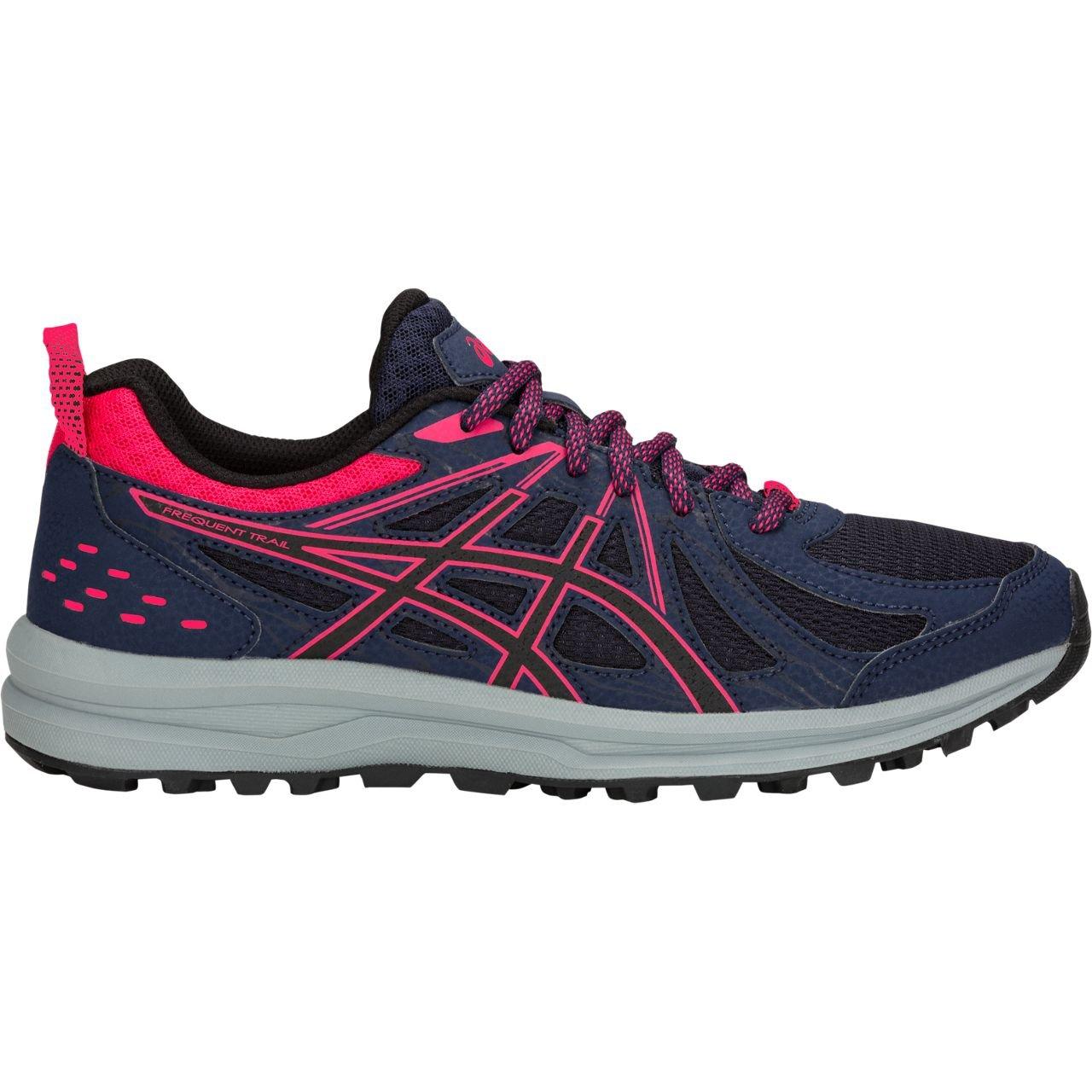 ASICS Women's Frequent Trail Running Shoe B07885WLDB 5 B(M) US|Peacoat/Pixel Pink