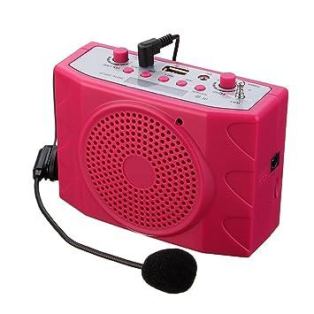 Amplificador De Voz ELEGIANT KU-898 USB2.0 FM Portátil Ultraligero Trabajar De Forma