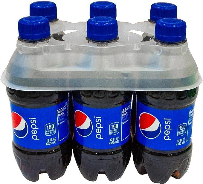 sky blue Silver PlasticForte 6 x Plastic Beer Garden Glass Collector Carrier Milk Bottle Holder