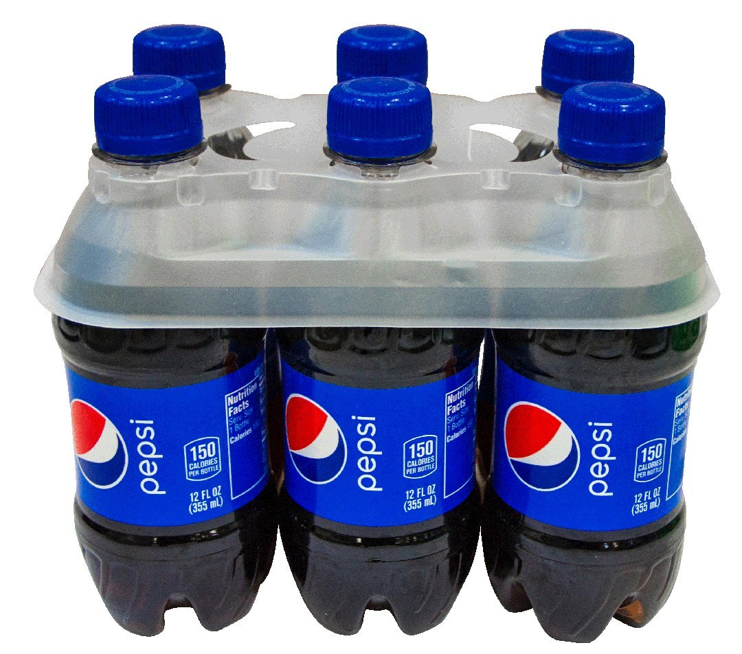 Wholesale Quantity 225 12-16oz plastic six-pack bottle neck Holder Water Beer Soda C-STORE PACKAGING 225-12-16oz-plastic-six-pack