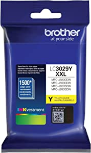 Brother LC3029Y Super High Yield Yellow Ink Cartridge
