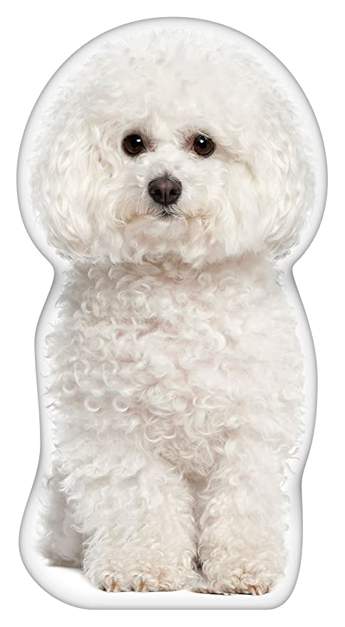 amazon com ileesh bichon frise shaped pillow pet supplies