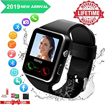 Smartwatch con Whatsapp,Bluetooth Smart Watch Pantalla táctil ...